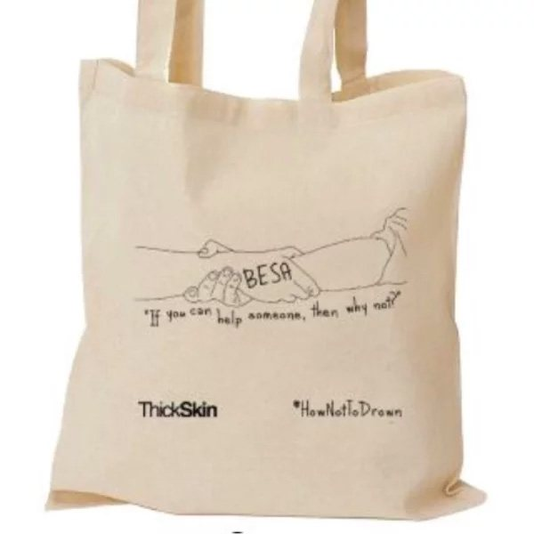 ThickSkin BESA tote bag